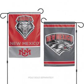 New Mexico Lobos NCAA Garden Flag
