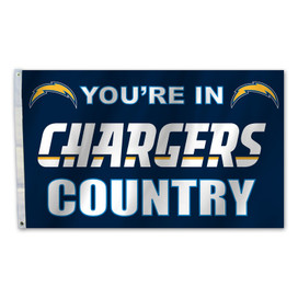 Los Angeles Chargers Country Grommet Flag