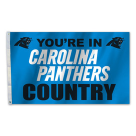 Carolina Panthers Country Grommet Flag