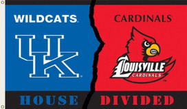 Kentucky-Louisville Rivalry Grommet Flag NCAA 3' x 5'