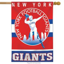 New York Giants Retro Vertical NFL House Flag