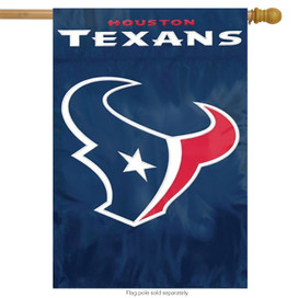 Houston Texans Applique & Embroidered Banner Flag NFL