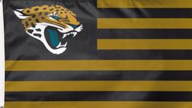 Jacksonville Jaguars NFL Deluxe Grommet Flag