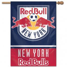 New York Red Bulls MLS Vertical Flag