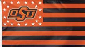 Oklahoma State University Deluxe Grommet Flag