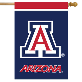 Arizona Wildcats NCAA House Flag