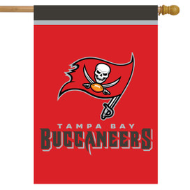 Tampa Bay Buccaneers NFL Licensed House Flag