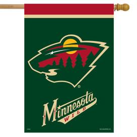Minnesota Wild NHL Licensed House Flag