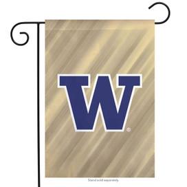 University of Washington Huskies NCAA Licensed Garden Flag
