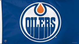 Edmonton Oilers NHL Deluxe Grommet Flag