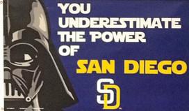 San Diego Padres Star Wars Deluxe Grommet Flag