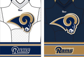 Saint Louis Rams NFL House Flag