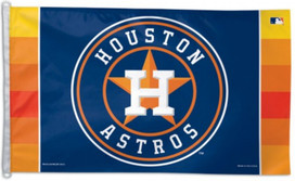 Houston Astros Deluxe Grommet Flag