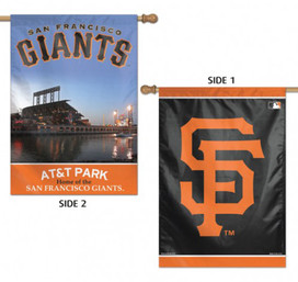 San Francisco Giants MLB 2 Sided Vertical House Flag