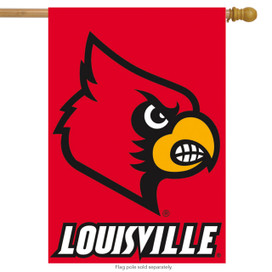 University of Louisville NCAA Licensed House Flag