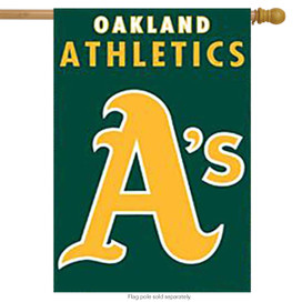 Oakland Athletics Applique Banner Flag