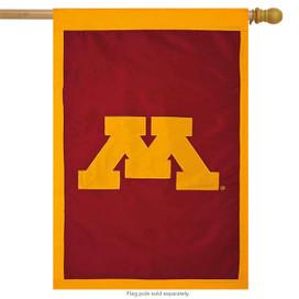 University of Minnesota Applique NCAA Licensed House Flag