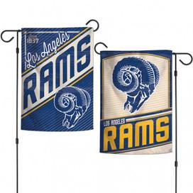 Los Angeles Rams Retro Licensed NFL Garden Flag