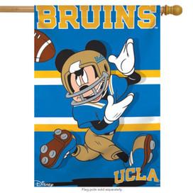 UCLA Bruins NCAA Mickey Mouse House Flag