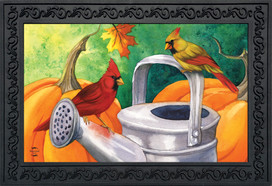 Fall Watering Can Doormat