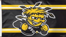 Wichita State University Shockers Deluxe Grommet Flag