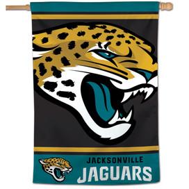 Jacksonville Jaguars Vertical NFL Flag