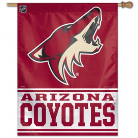 Arizona Coyotes Vertical Flag NHL