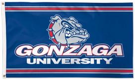 Gonzaga University Deluxe Grommet Flag