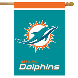 Miami Dolphins NFL Licensed House Flag