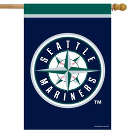 Seattle Mariners MLB Licensed House Flag