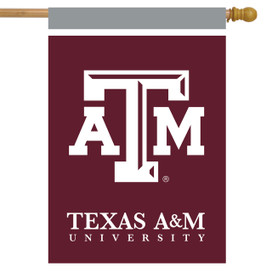 Texas A&M Aggies NCAA Licensed House Flag