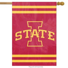 Iowa State Applique & Embroidered Banner Flag NCAA