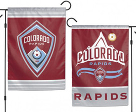 Colorado Rapids Double Sided MLS Garden Flag