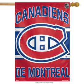 Montreal Canadiens Vertical NHL House Flag