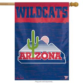 University of Arizona Vertical Flag