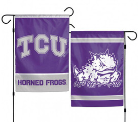 Texas Christian University 2 Sided Garden Flag