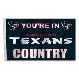 Houston Texans Country Grommet Flag