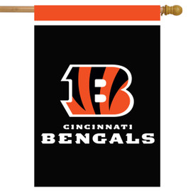 Cincinnati Bengals NFL House Flag