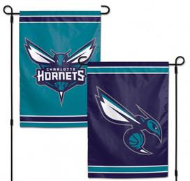 Charlotte Hornets NBA 2 Sided Garden Flag