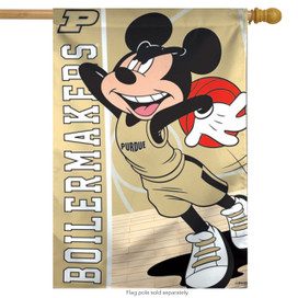 Purdue University Boilermakers NCAA Mickey Mouse House Flag