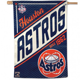 Houston Astros Retro Vertical Flag