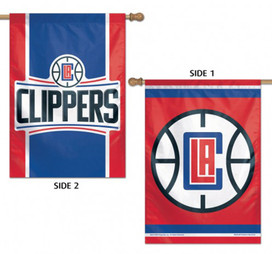 Los Angeles Clippers 2 Sided NBA Vertical House Flag