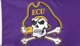 East Carolina University Pirates Deluxe Grommet Flag