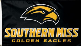 Southern Mississippi Golden Eagles Deluxe Grommet Flag