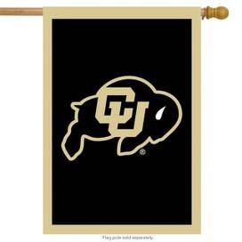 University of Colorado Applique NCAA Licensed House Flag