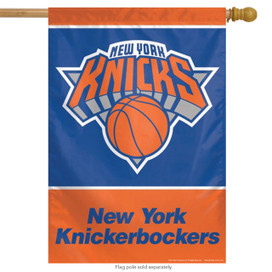 New York Knicks Vertical NBA House Flag