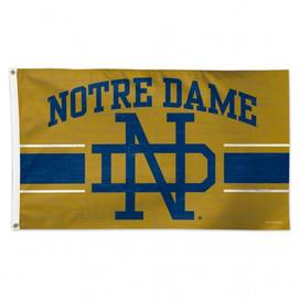 Notre Dame Logo Deluxe Grommet Flag