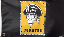 Pittsburgh Pirates MLB Deluxe Grommet Flag