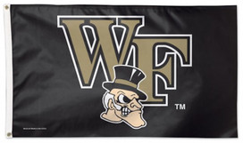 Wake Forest University Deluxe Grommet Flag
