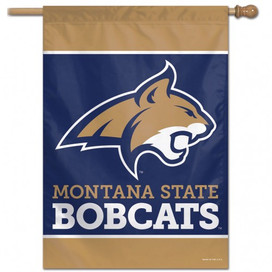 Montana State University Vertical Flag